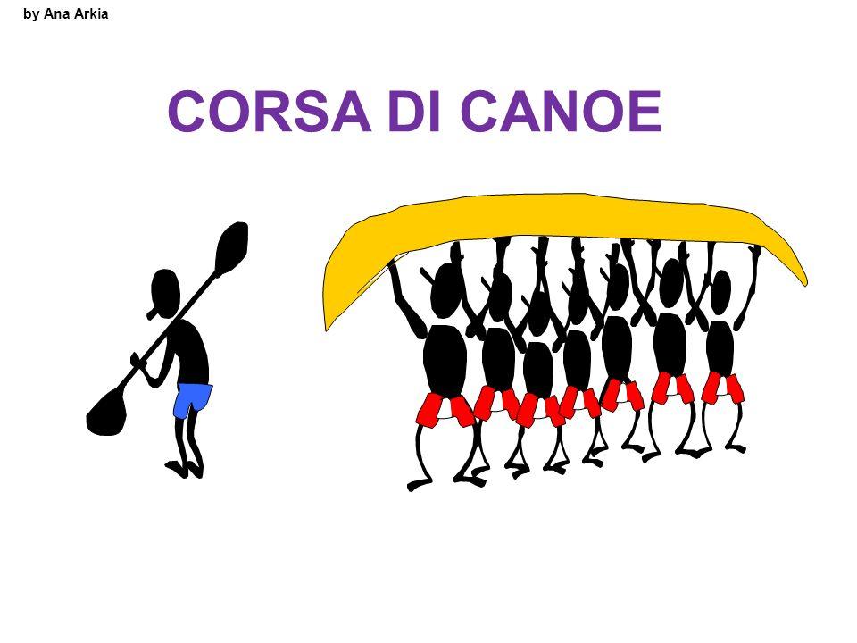 by Ana Arkia CORSA DI CANOE