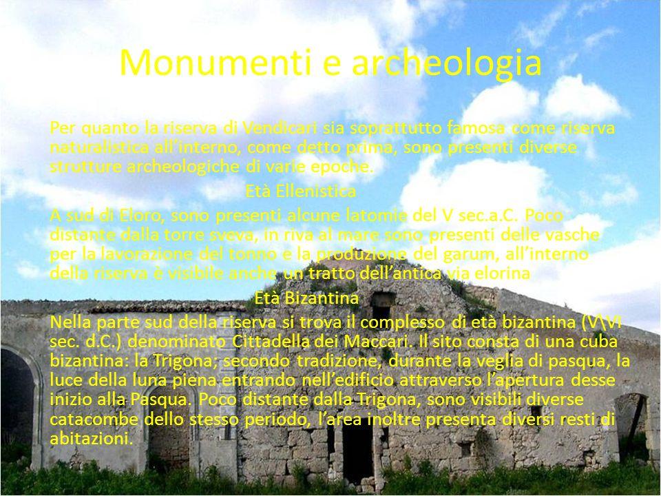 Monumenti e archeologia