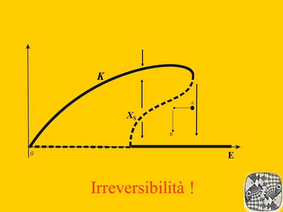 K A XS B E Irreversibilità !