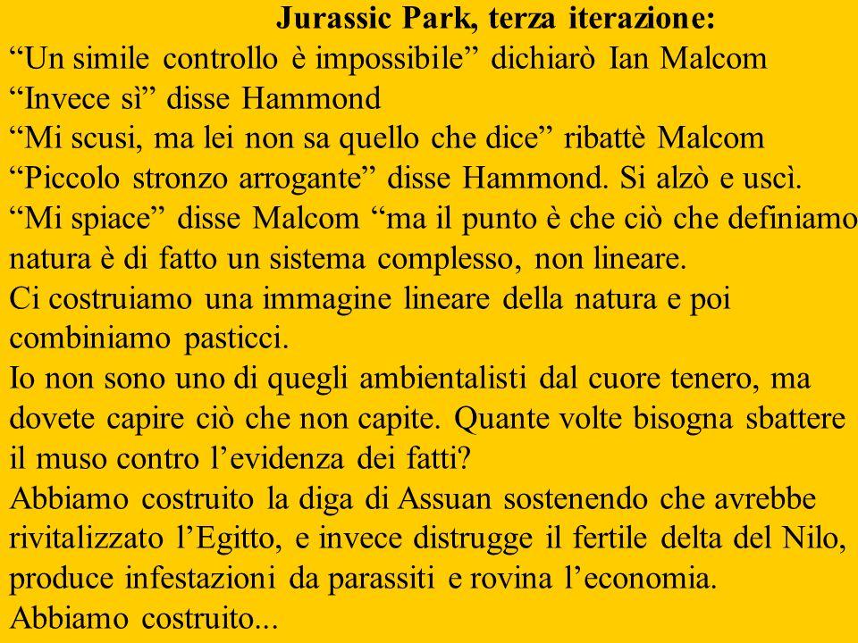 Jurassic Park, terza iterazione: