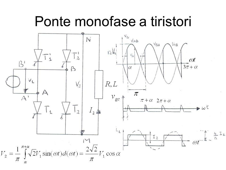 Ponte monofase a tiristori
