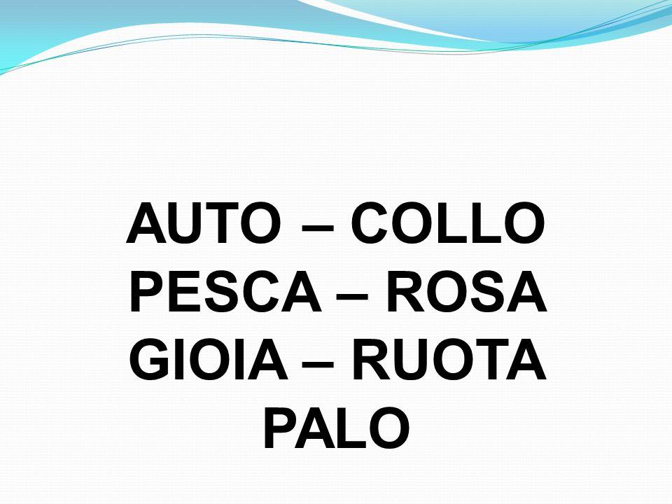 AUTO – COLLO PESCA – ROSA GIOIA – RUOTA PALO