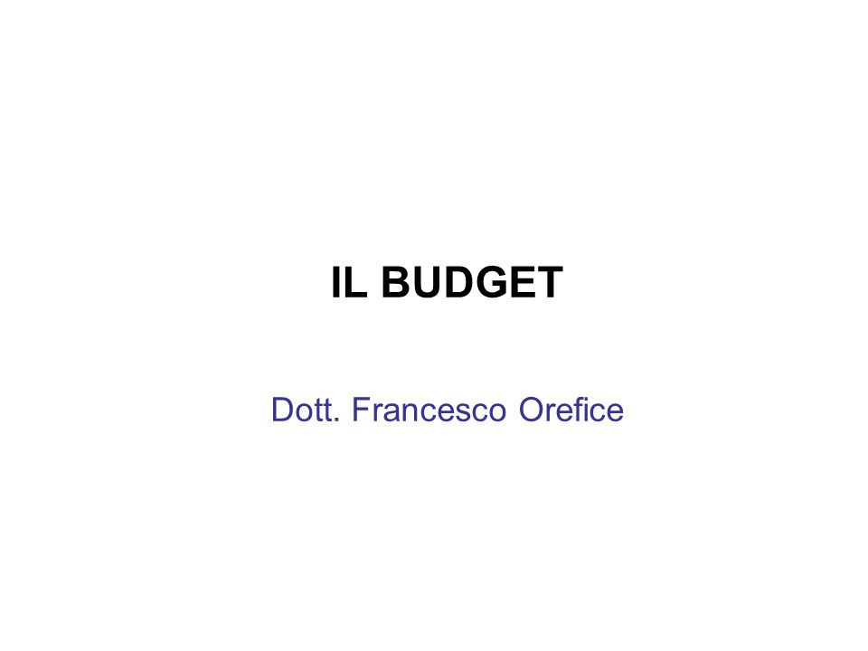 Dott. Francesco Orefice