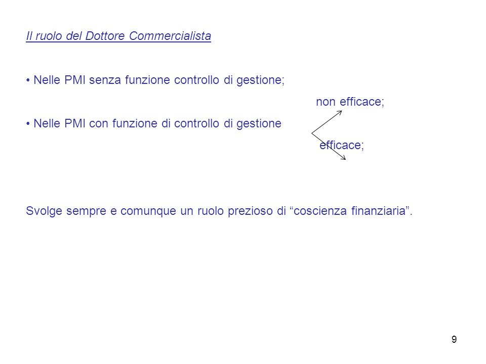Il ruolo del Dottore Commercialista