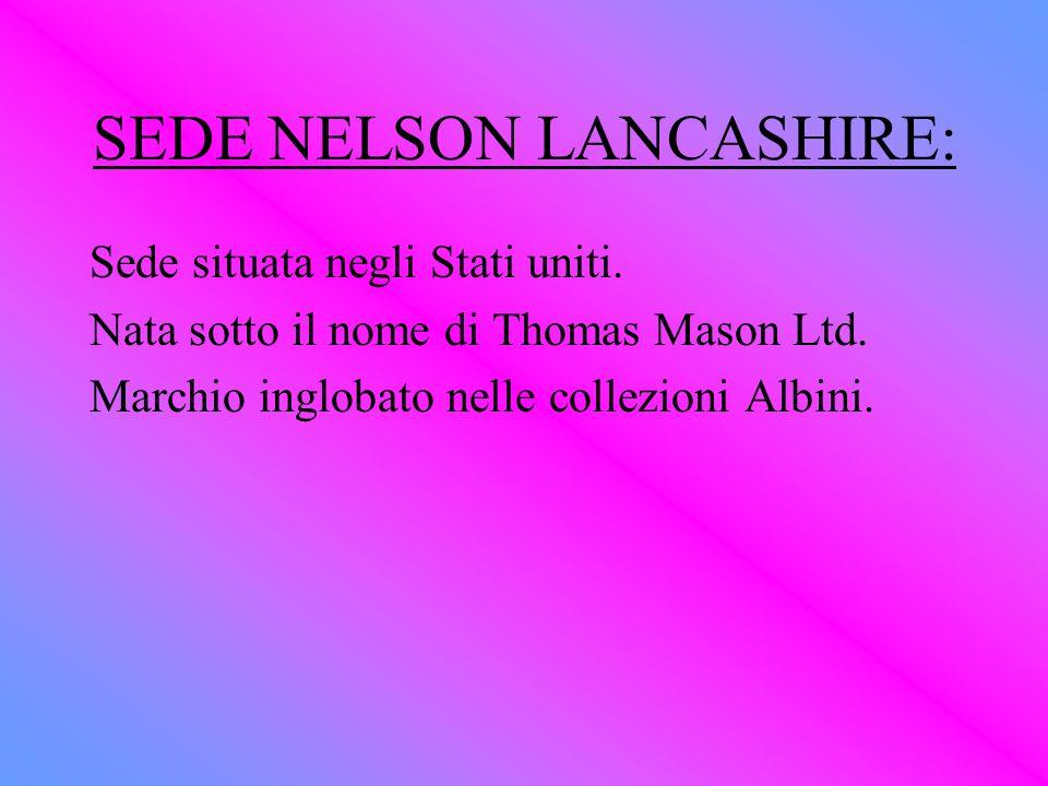 SEDE NELSON LANCASHIRE:
