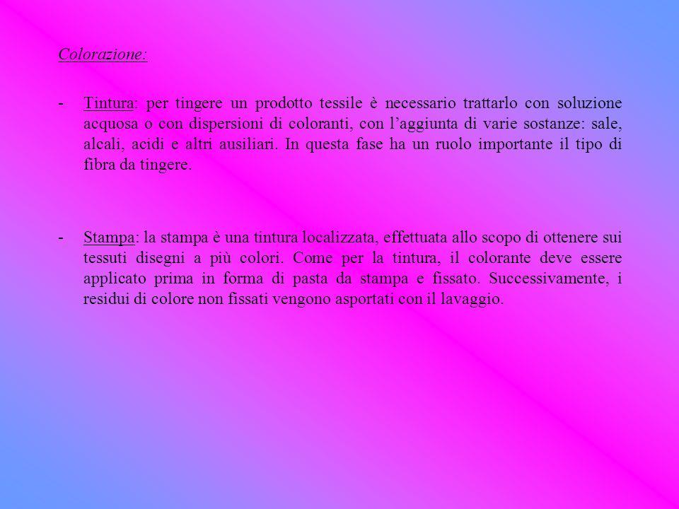 Colorazione: