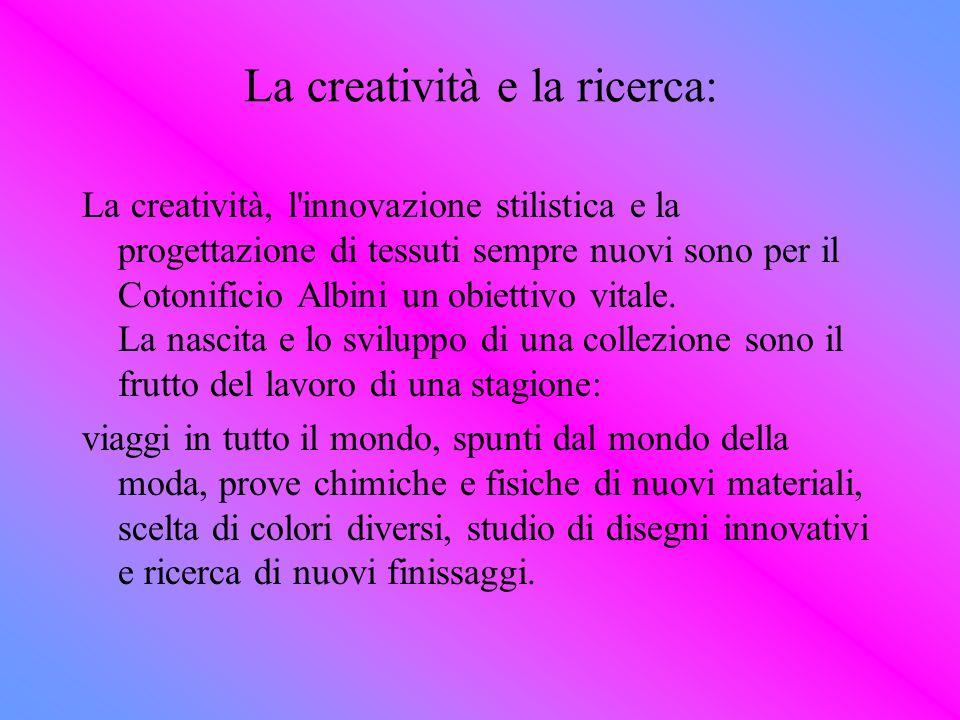 La creatività e la ricerca: