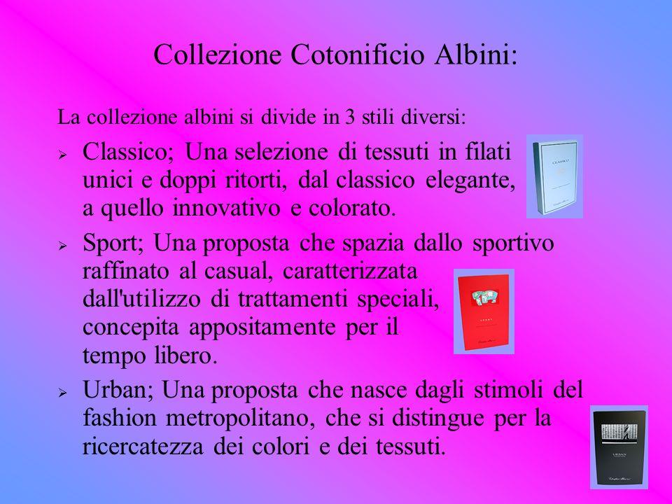 Collezione Cotonificio Albini: