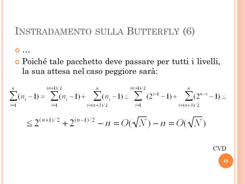 Instradamento sulla Butterfly (6)