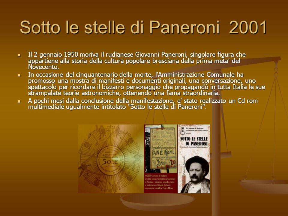 Sotto le stelle di Paneroni 2001