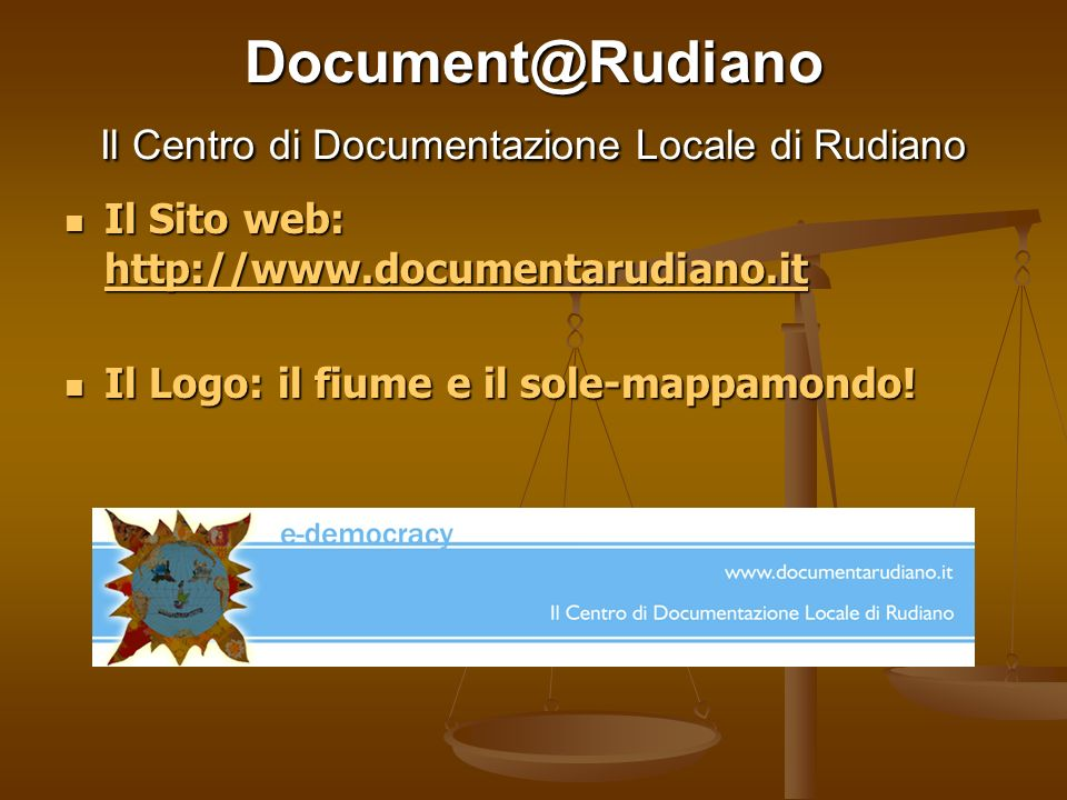 Document@Rudiano Il Centro di Documentazione Locale di Rudiano