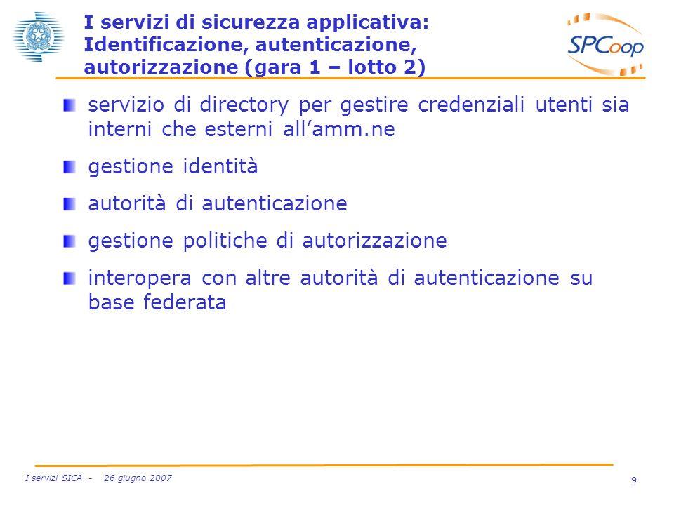 autorità di autenticazione gestione politiche di autorizzazione