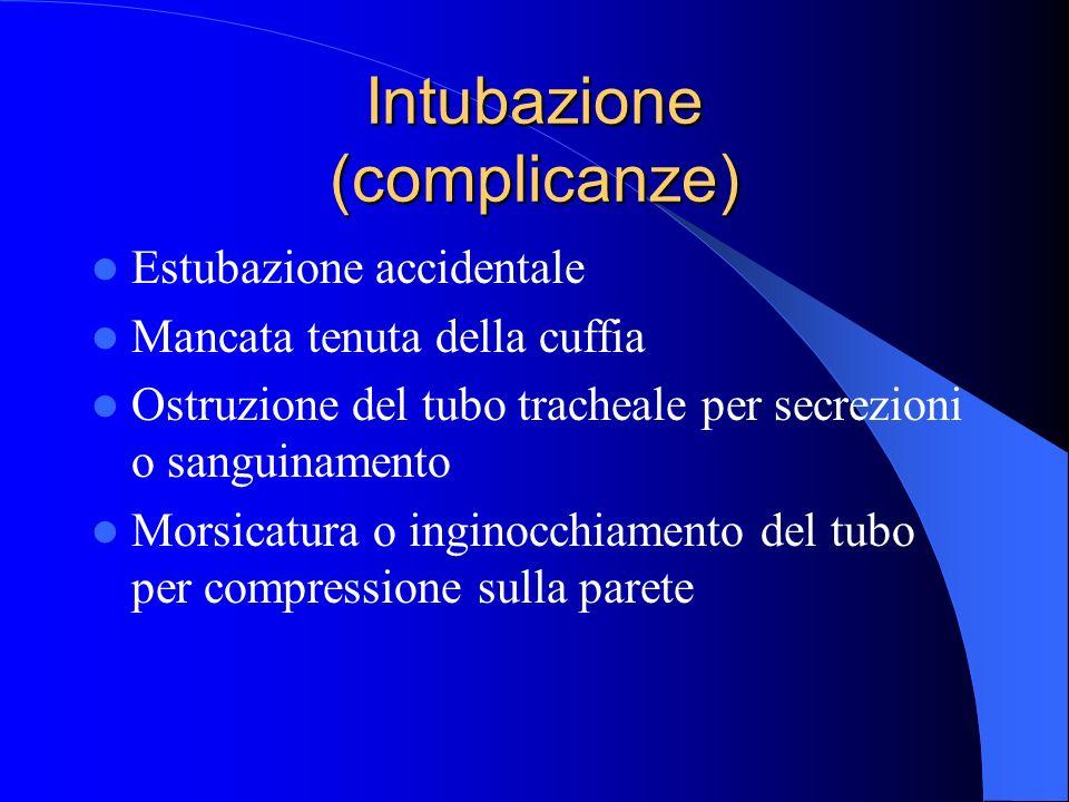 Intubazione (complicanze)