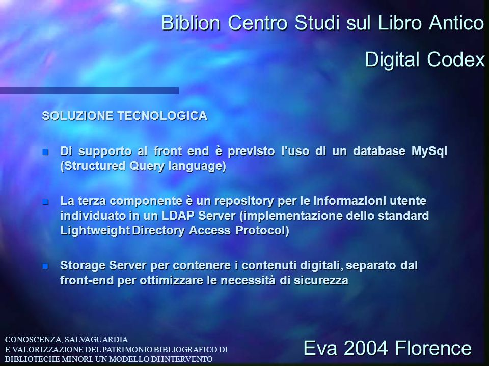Biblion Centro Studi sul Libro Antico