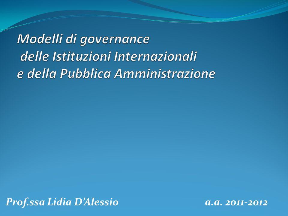 Prof.ssa Lidia D'Alessio a.a. 2011-2012