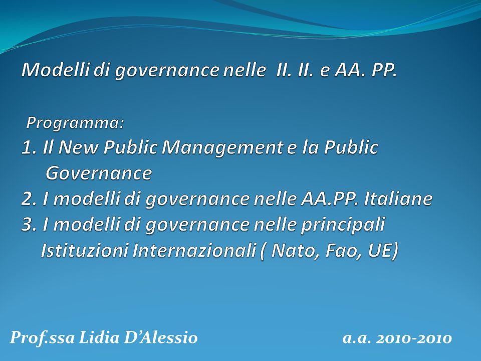 Prof.ssa Lidia D'Alessio a.a. 2010-2010