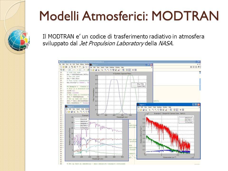 Modelli Atmosferici: MODTRAN