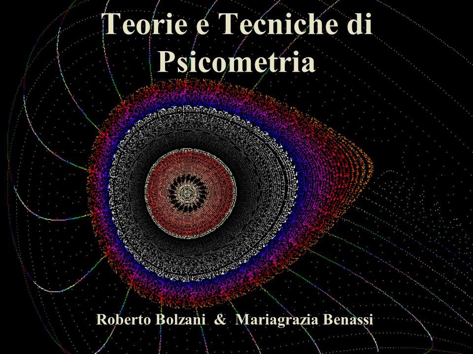 Teorie e Tecniche di Psicometria