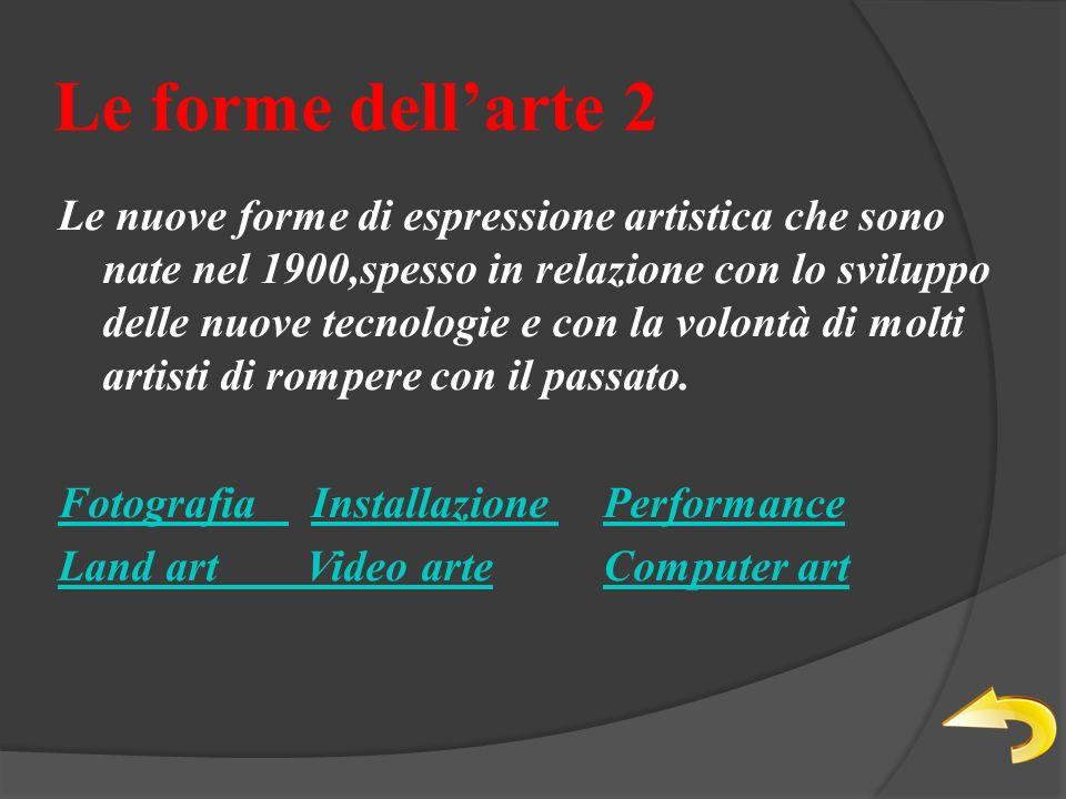 Le forme dell'arte 2