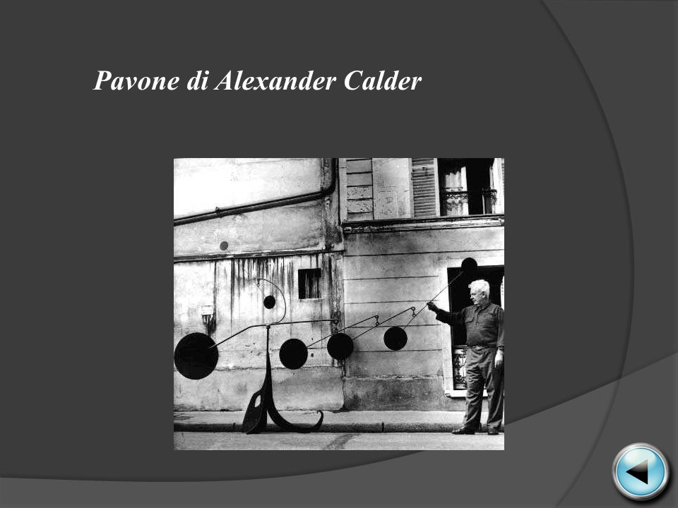 Pavone di Alexander Calder