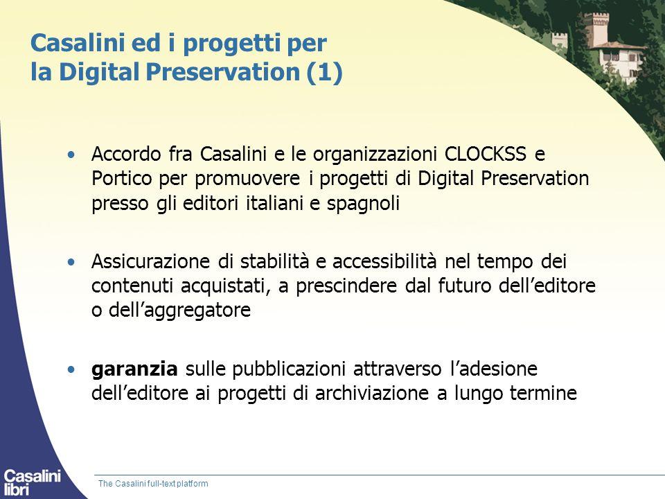 Casalini ed i progetti per la Digital Preservation (1)