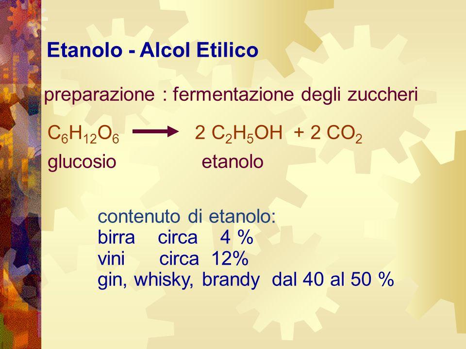 Etanolo - Alcol Etilico