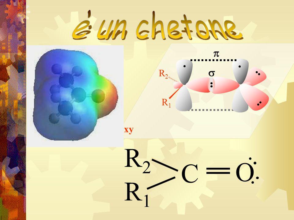 è un chetone R1 R2 s p xy R2 C O R1