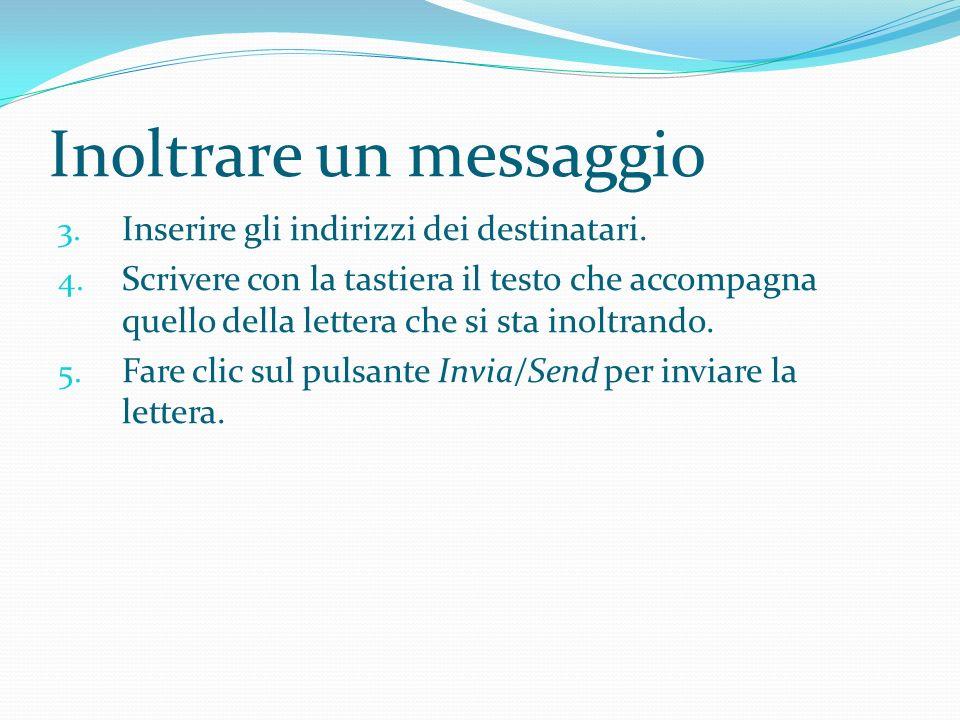 Inoltrare un messaggio