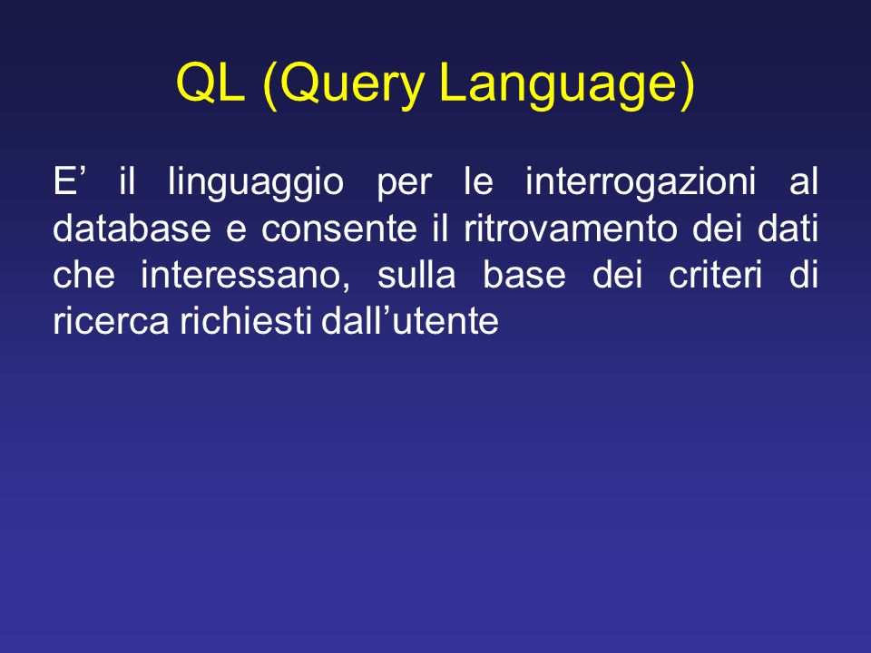 QL (Query Language)