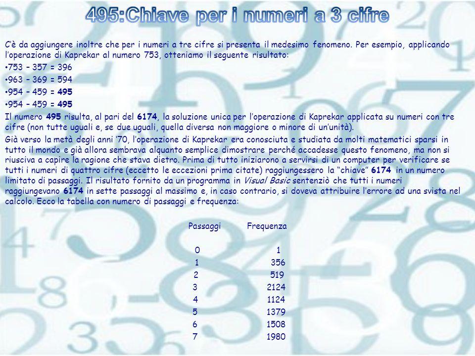 495:Chiave per i numeri a 3 cifre