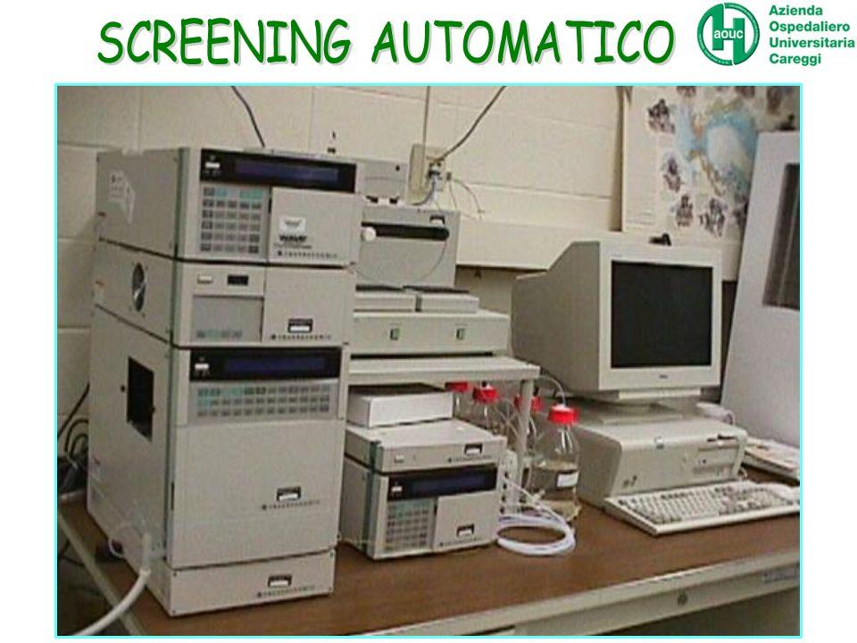 SCREENING AUTOMATICO DHPLC