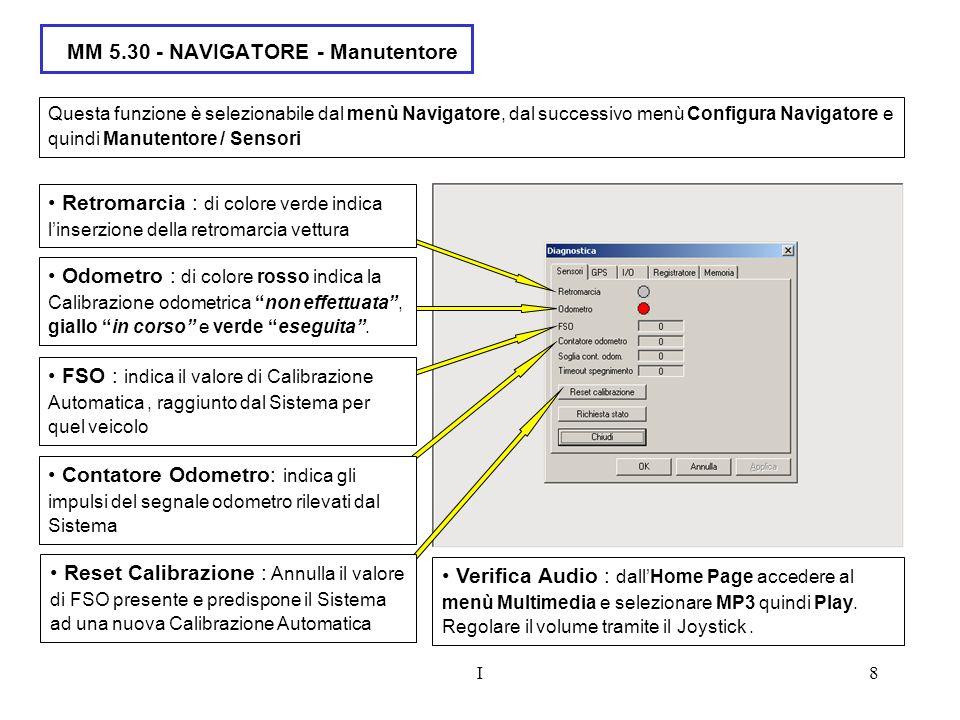 MM 5.30 - NAVIGATORE - Manutentore