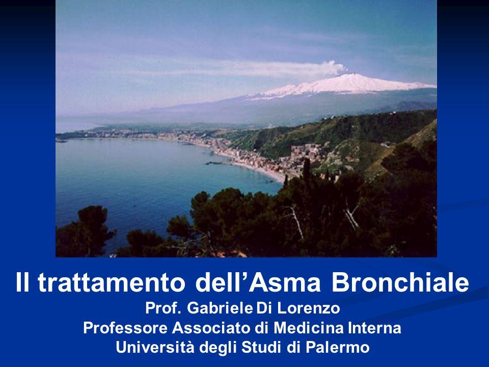 Il trattamento dell'Asma Bronchiale