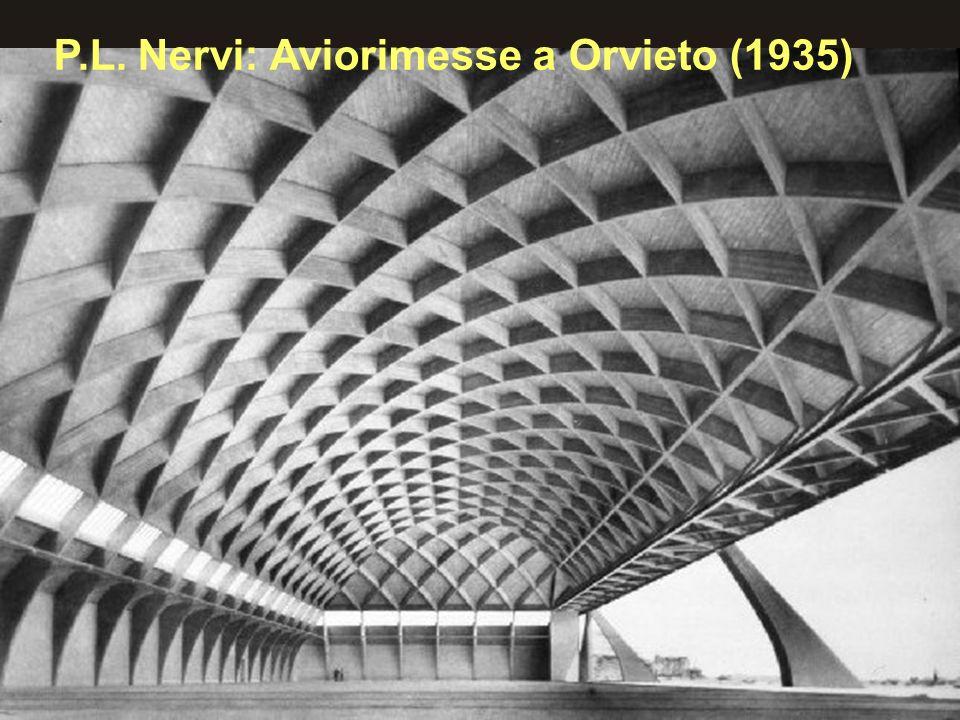 P.L. Nervi: Aviorimesse a Orvieto (1935)