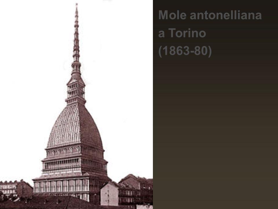 Mole antonelliana a Torino (1863-80)