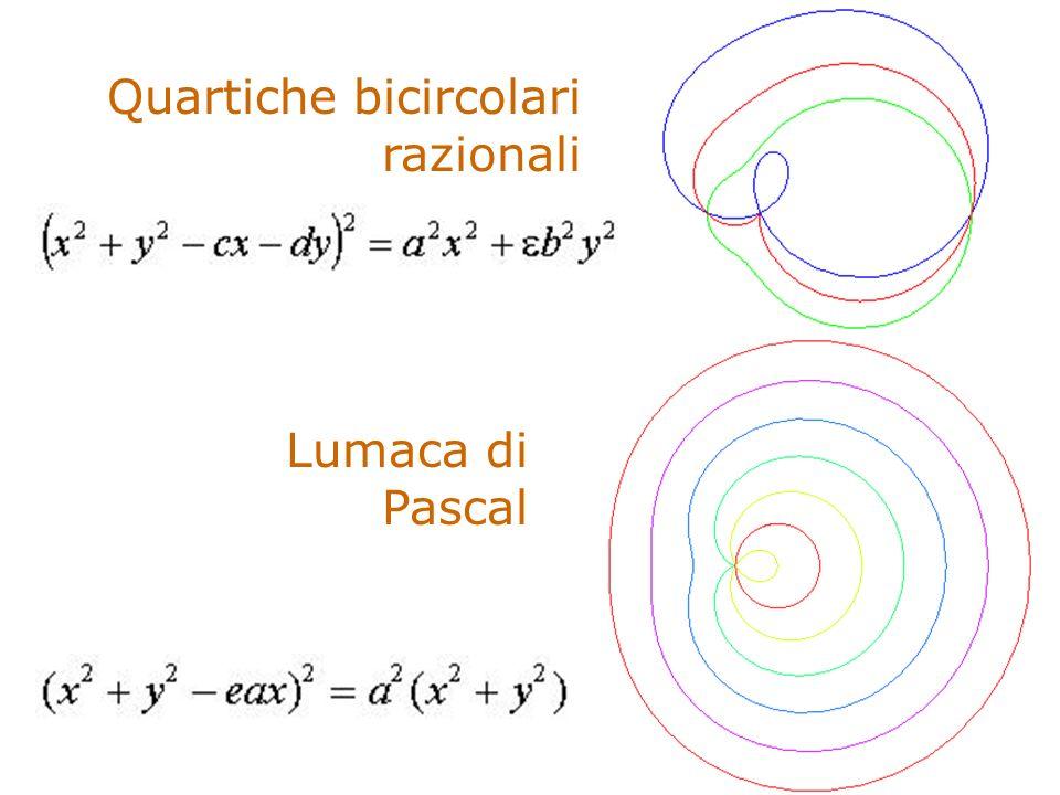 Quartiche bicircolari razionali