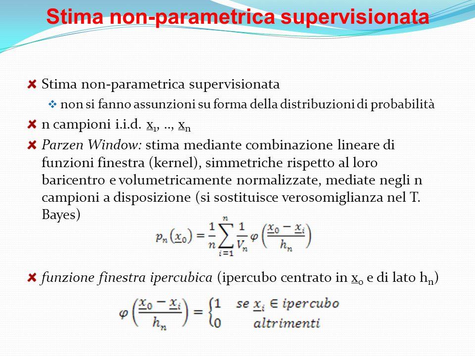 Stima non-parametrica supervisionata