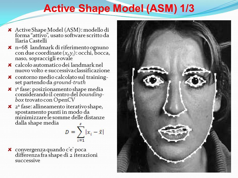 Active Shape Model (ASM) 1/3
