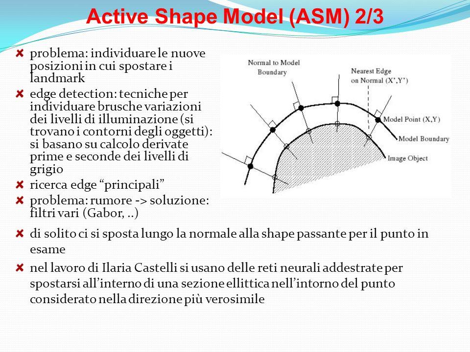 Active Shape Model (ASM) 2/3