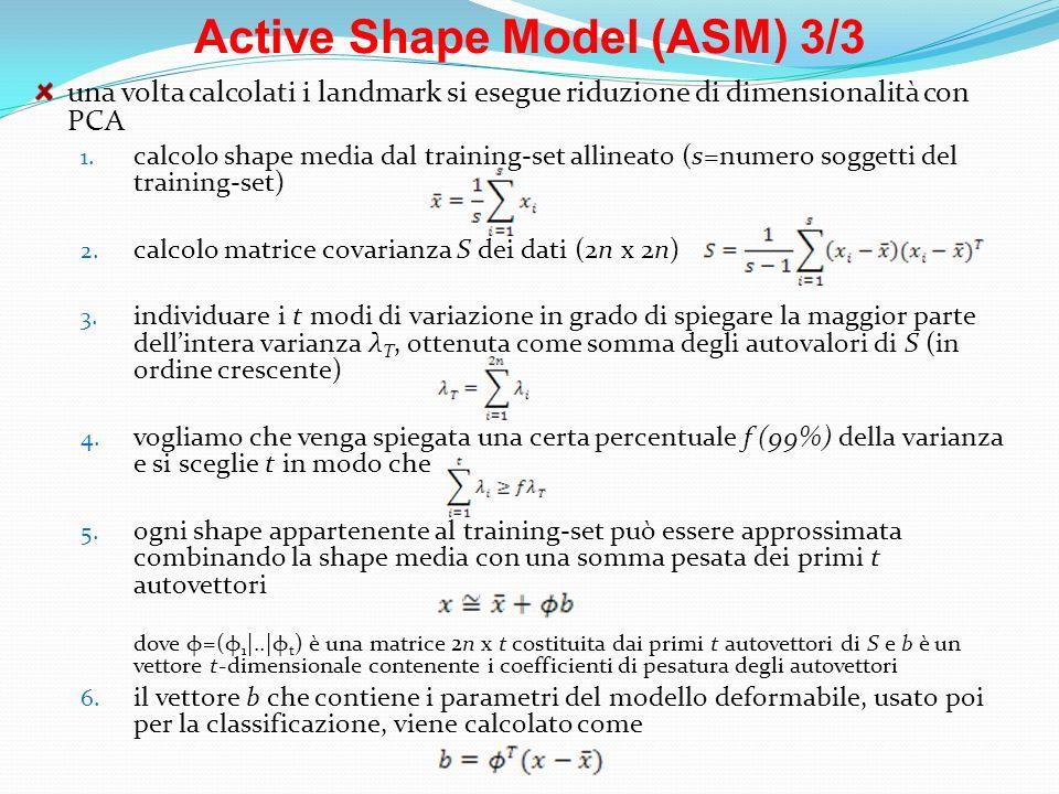 Active Shape Model (ASM) 3/3