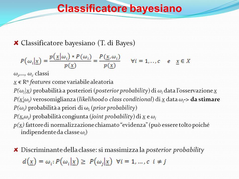 Classificatore bayesiano