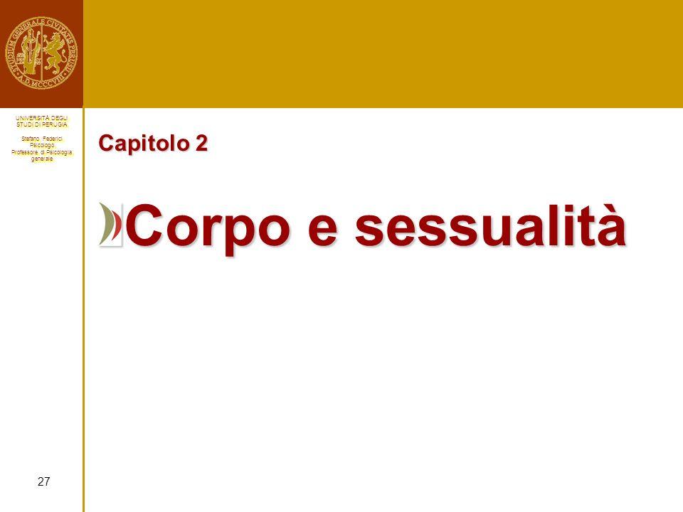 Capitolo 2 Corpo e sessualità