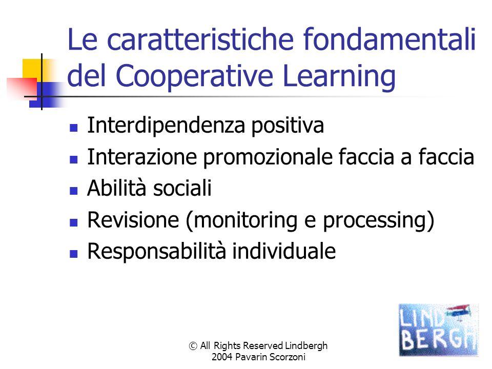 Le caratteristiche fondamentali del Cooperative Learning