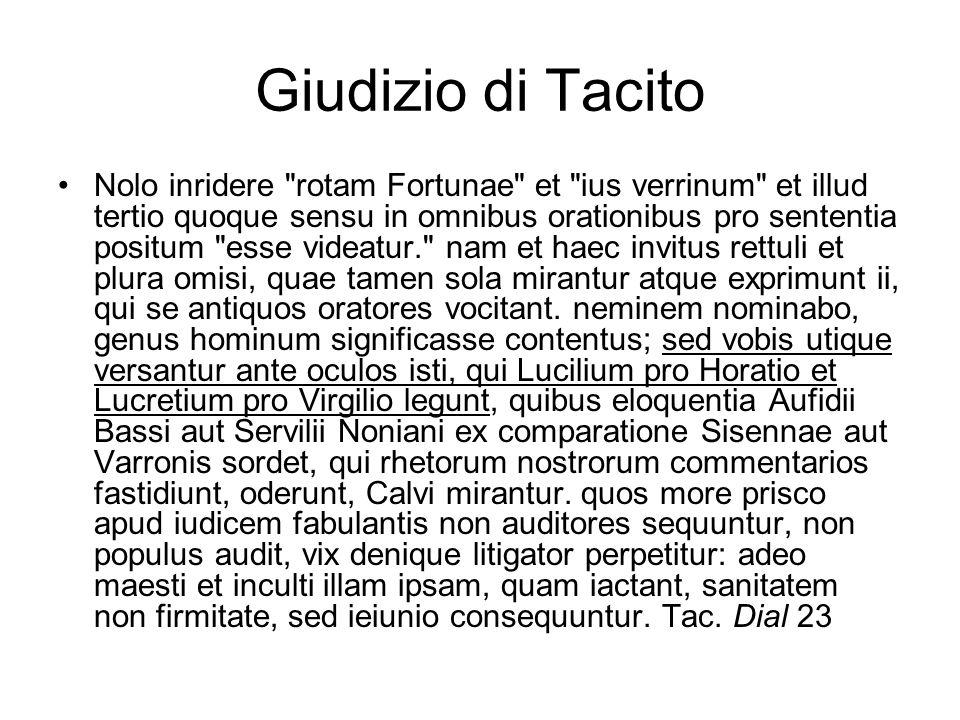 Giudizio di Tacito