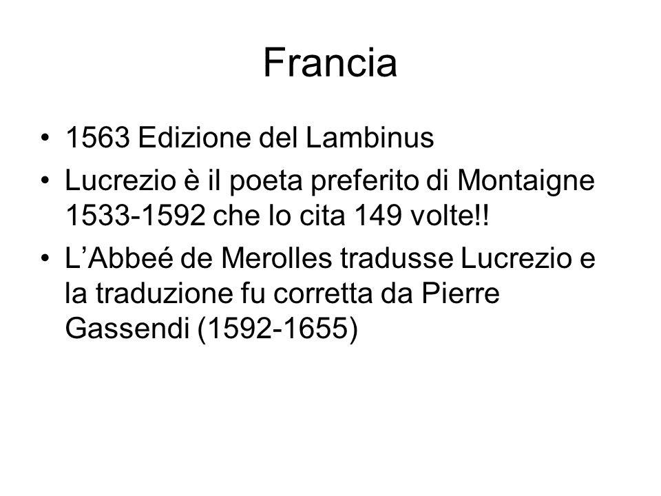 Francia 1563 Edizione del Lambinus