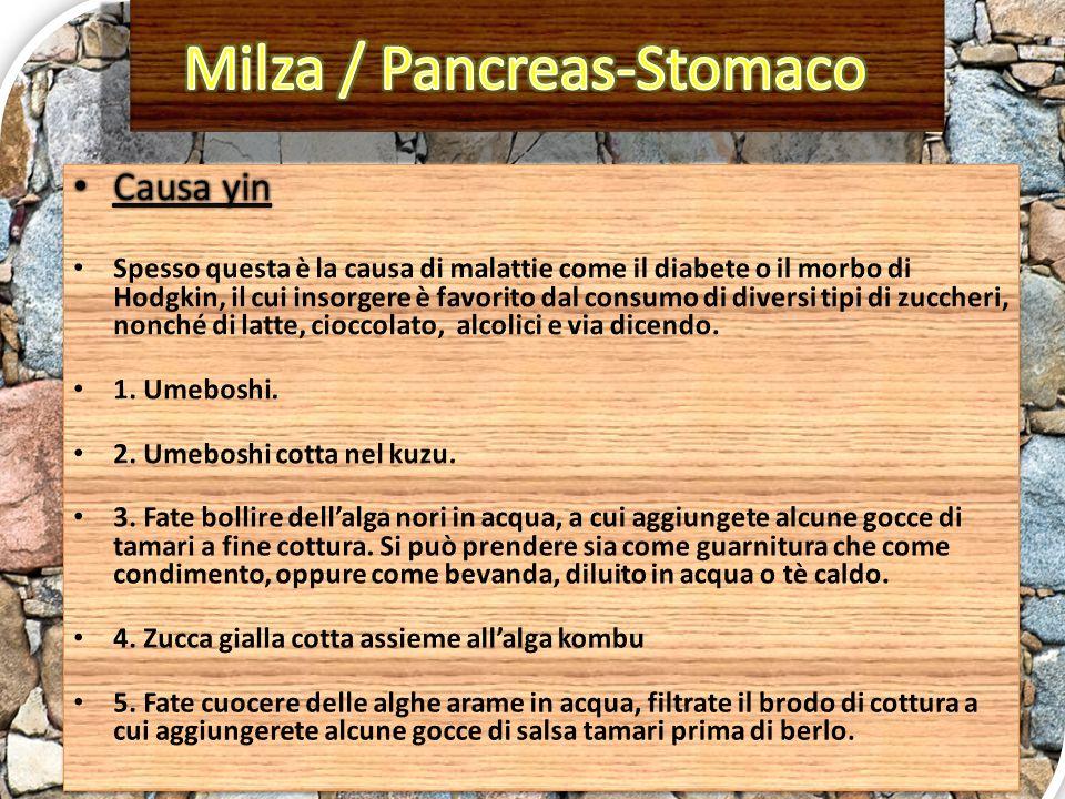 Milza / Pancreas-Stomaco