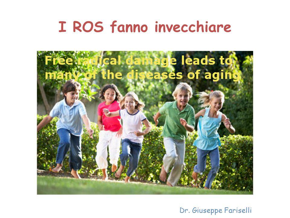 I ROS fanno invecchiare