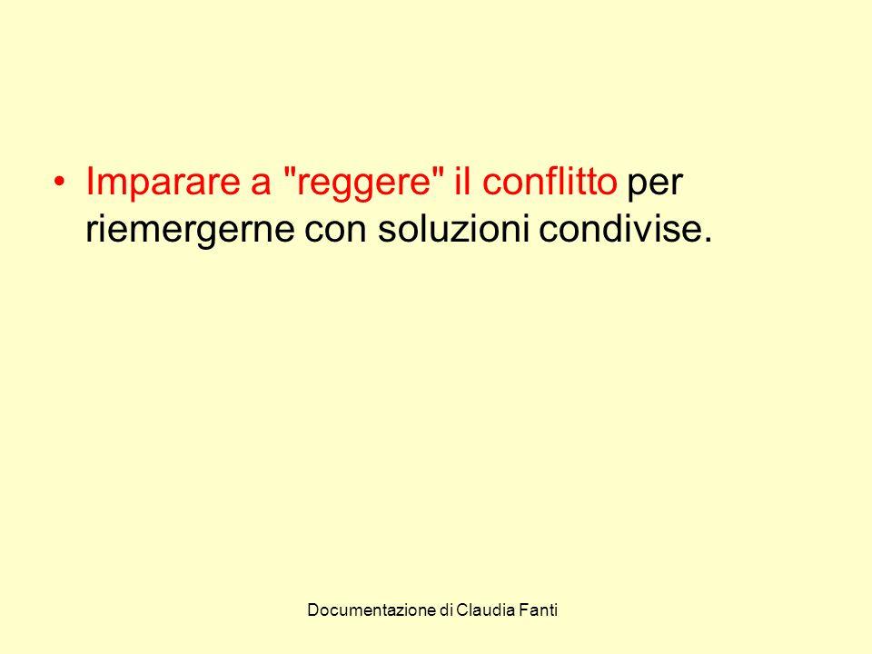 Imparare a reggere il conflitto per riemergerne con soluzioni condivise.