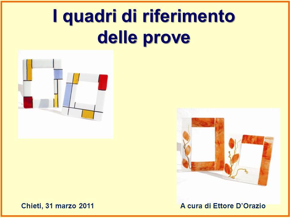 I quadri di riferimento A cura di Ettore D'Orazio