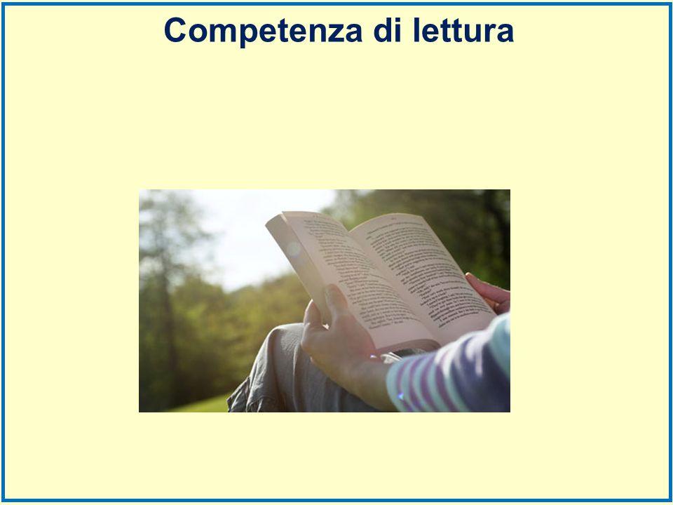 Competenza di lettura
